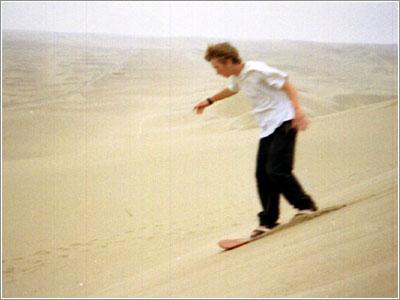 Фото sandboarding