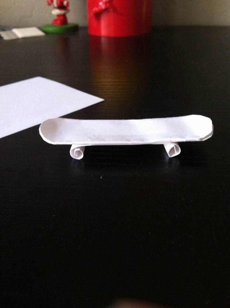 Как сделать фингерборд из одной бумаги
